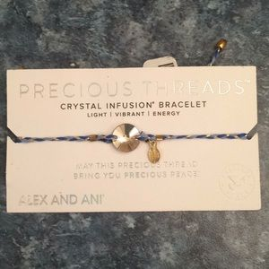 Alex and Ani precious threads....crystal infusion